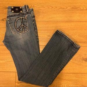 Miss Me Peace Jeans